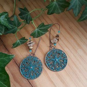 Jewelry - Boho Circle Earrings
